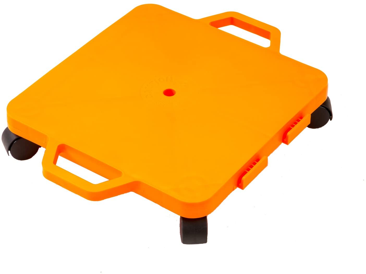 Cosom Scooter Board, 16 Inch Children's Sit & Scoot Board with 2 Inch Non-Marring Nylon Casters & Safety Guards for Physical Education Class