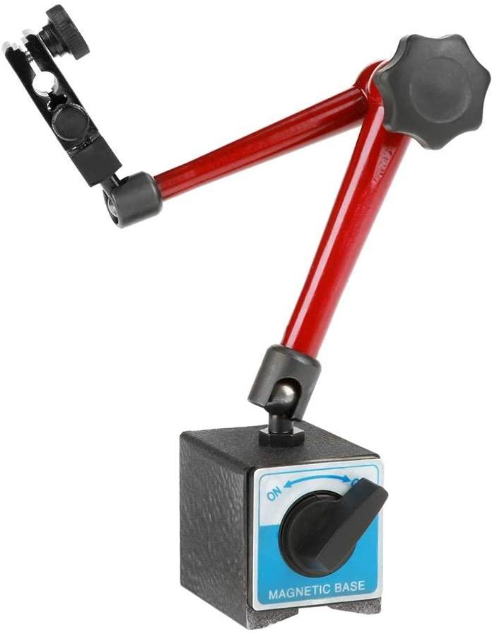 Magnetic Base Holder Stand, 350mm Adjustable Universal Magnetic Base Holder Stand for Dial Test Gauge Indicator Tool Stand