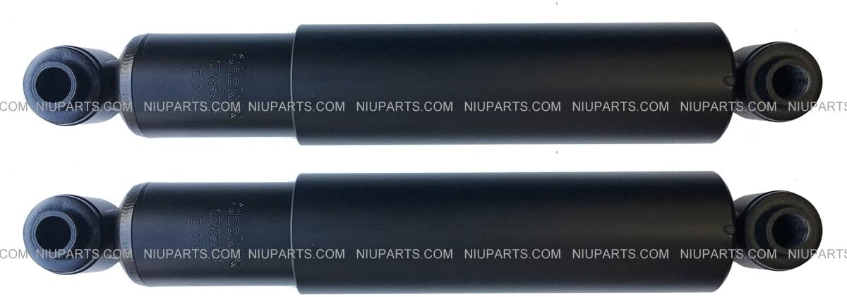 2 Pcs Heavy Duty Front Shock Absorber with Bushing (Fit: Freightliner and Thomas School Bus) (Replaces: 85918)