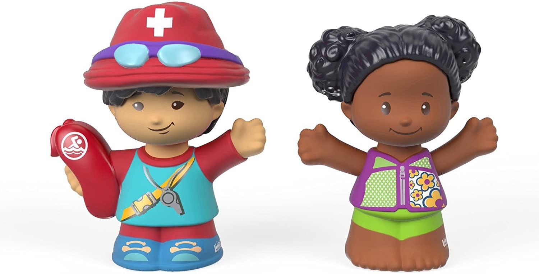 Fisher-Price Little People, Lifeguard Steven & Tessa