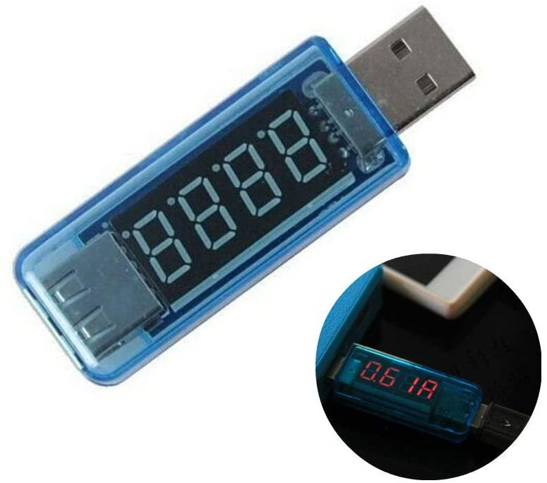 AKOAK Blue USB Voltage Current Meter Tester Charger Doctor Tester