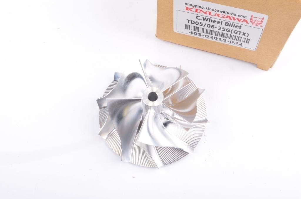 Kinugawa 405-02015-032 Turbo Compressor Billet Wheel for Mitsubishi TD05 TD06 25G / 6.5 mm hole