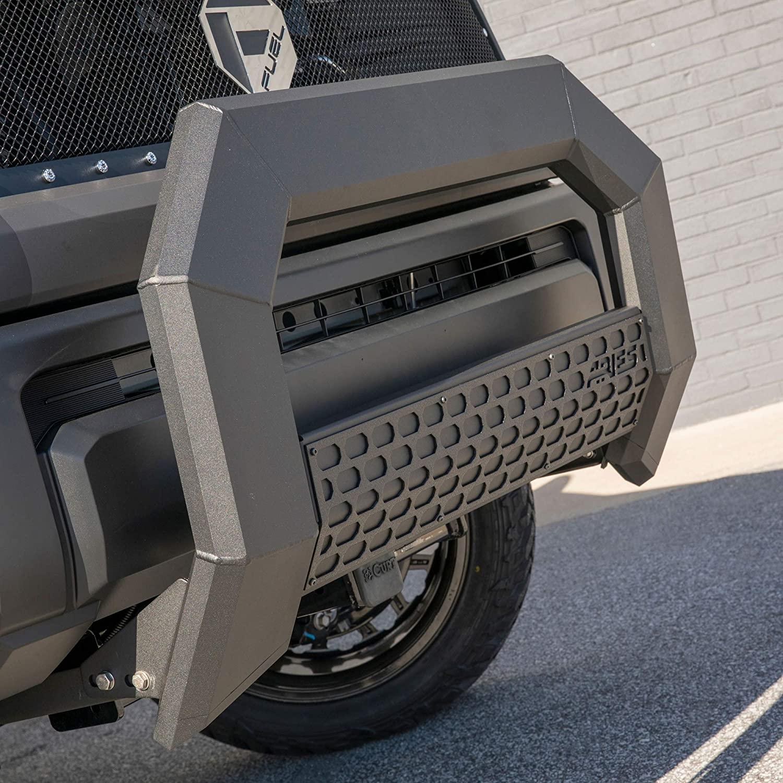 ARIES 2163003 AdvantEDGE Black Aluminum Truck Bull Bar, Select Ford F-250, F-350, F-450, F-550 Super Duty