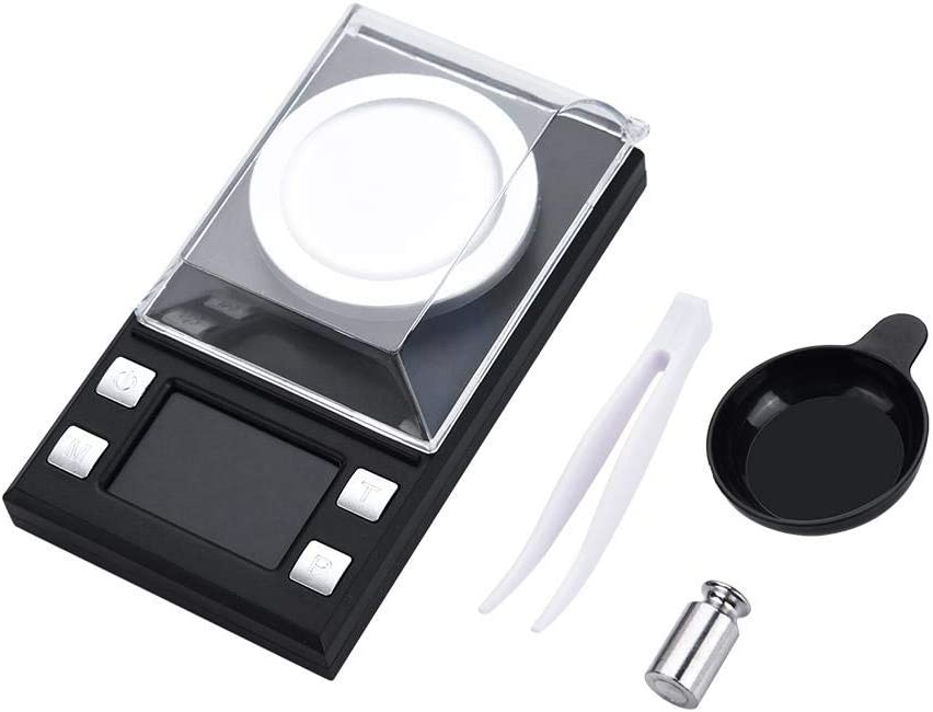 Mini Digital Scale, Portable Jewelry Scale 4.532.561.26in High Precision 0.001g Electronic Pocket Scale for Jewelry, Gold Weighing(4.532.561.26in-10g)