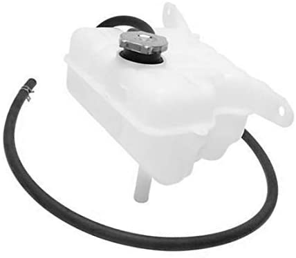 WFLNHB New 52079788AE 52079848AA Engine Radiator Coolant Reservoir w/Cap Replacement for Jeep Liberty 3.7L 2002-2006