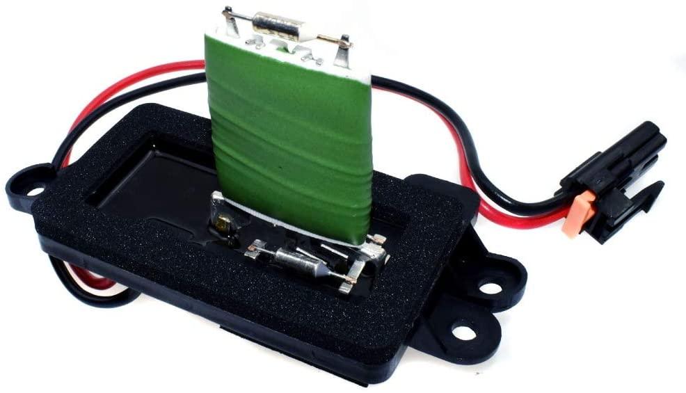 HVAC Front Blower Motor Resistor Replace# 89019088, RU571, JA1582 - Fits For Cadillac Escalade 1999-2006 Chevrolet Avalanche 1500 2500 2002-2006 GMC Jimmy GMC Yukon XL 1500 2500 2002-2006