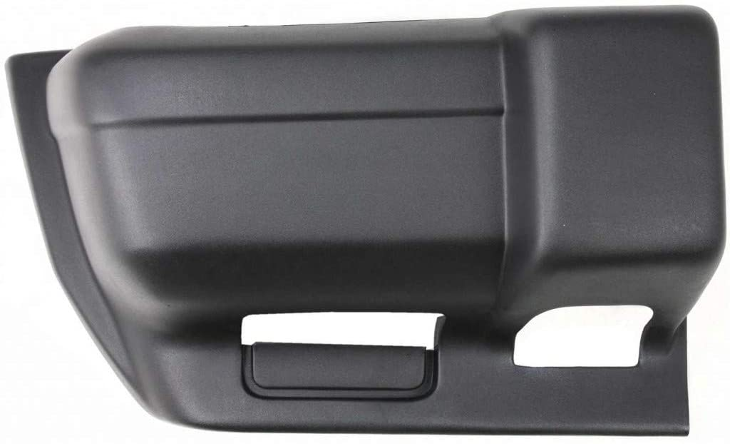 For Jeep Cherokee Bumper End 1997 98 99 00 2001 Passenger Side | Front | Textured | Plastic | w/Sport | CH1005126 | 5DY40DX9AC