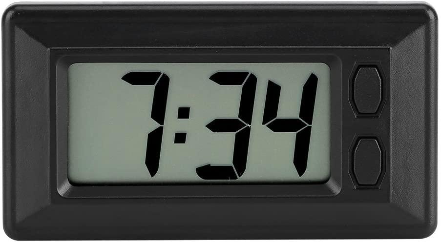Acogedor LCD Digital Clock Car Clock,Dashboard Clock,Date Time Calendar Display