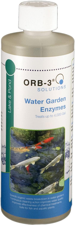 Orb-3 Water Garden Enzymes Bottle, 1-Pint