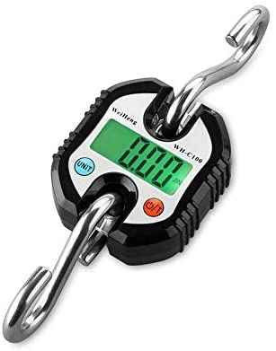 WH-C100 150kg Mini Portable Electronic Scale Digital LCD Hanging Crane Scale Rodalind