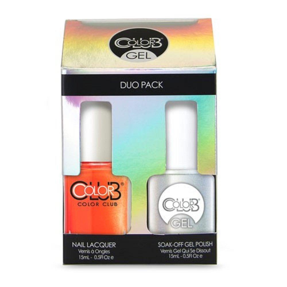 Color Club Gel Polish + Lacquer Duo, Foxy Mama