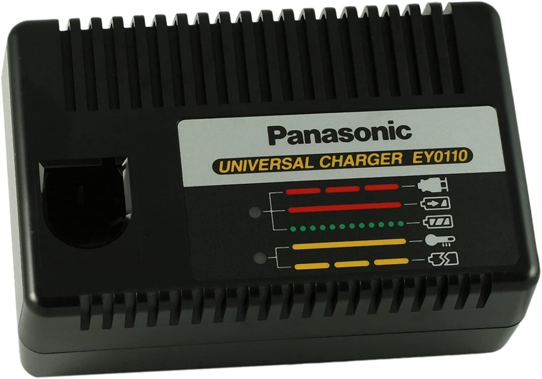 Panasonic EY0110B 7.2-Volt to 24-Volt Universal Charger for Ni-MH, Ni-Cd Batteries
