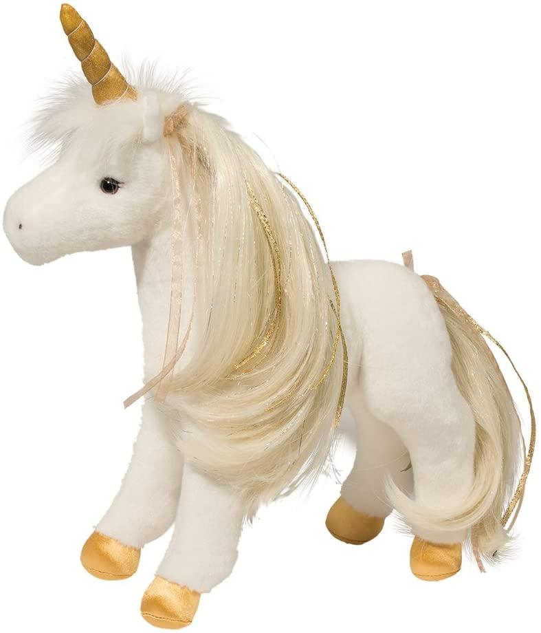 Douglas Golden Princess Unicorn Plush Stuffed Animal
