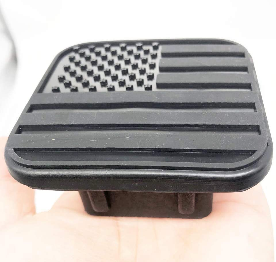 Interesting car US Flag Logo Trailer Hitch Tube Cover Plug Cap,Rubber Receiver Tube Hitch Plug,Trailer Hitch Cover