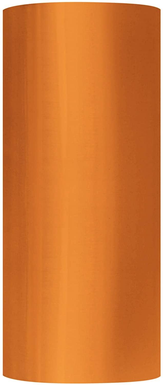 Pallet Packing Plastic Wrap, Cast Machine Stretch Film Roll, Orange, 20 Inch x 5000 Feet, 80 Gauge, 1 Pack