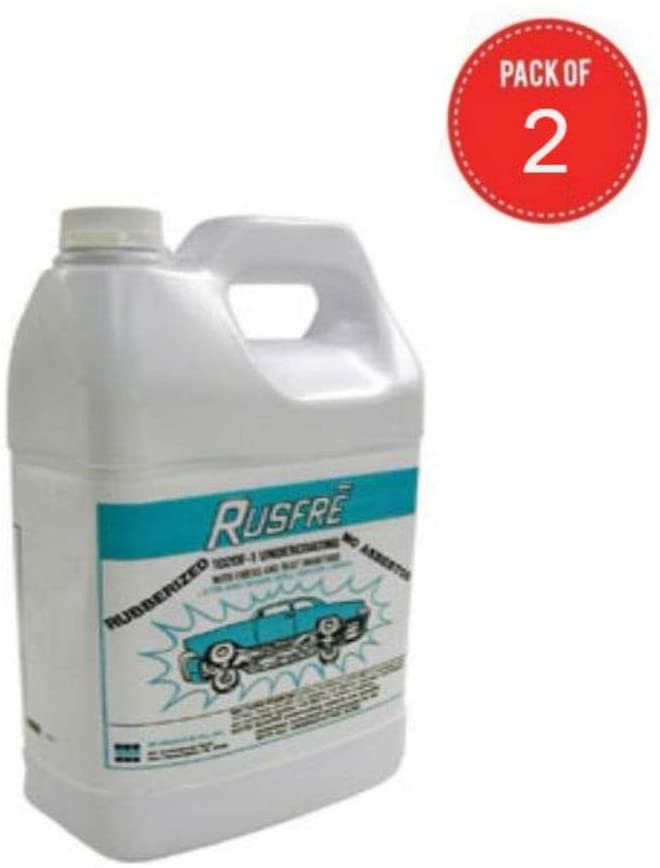 Automotive Spray-On Rubberized Undercoating Material, 1-Gallon (Pack of 2)