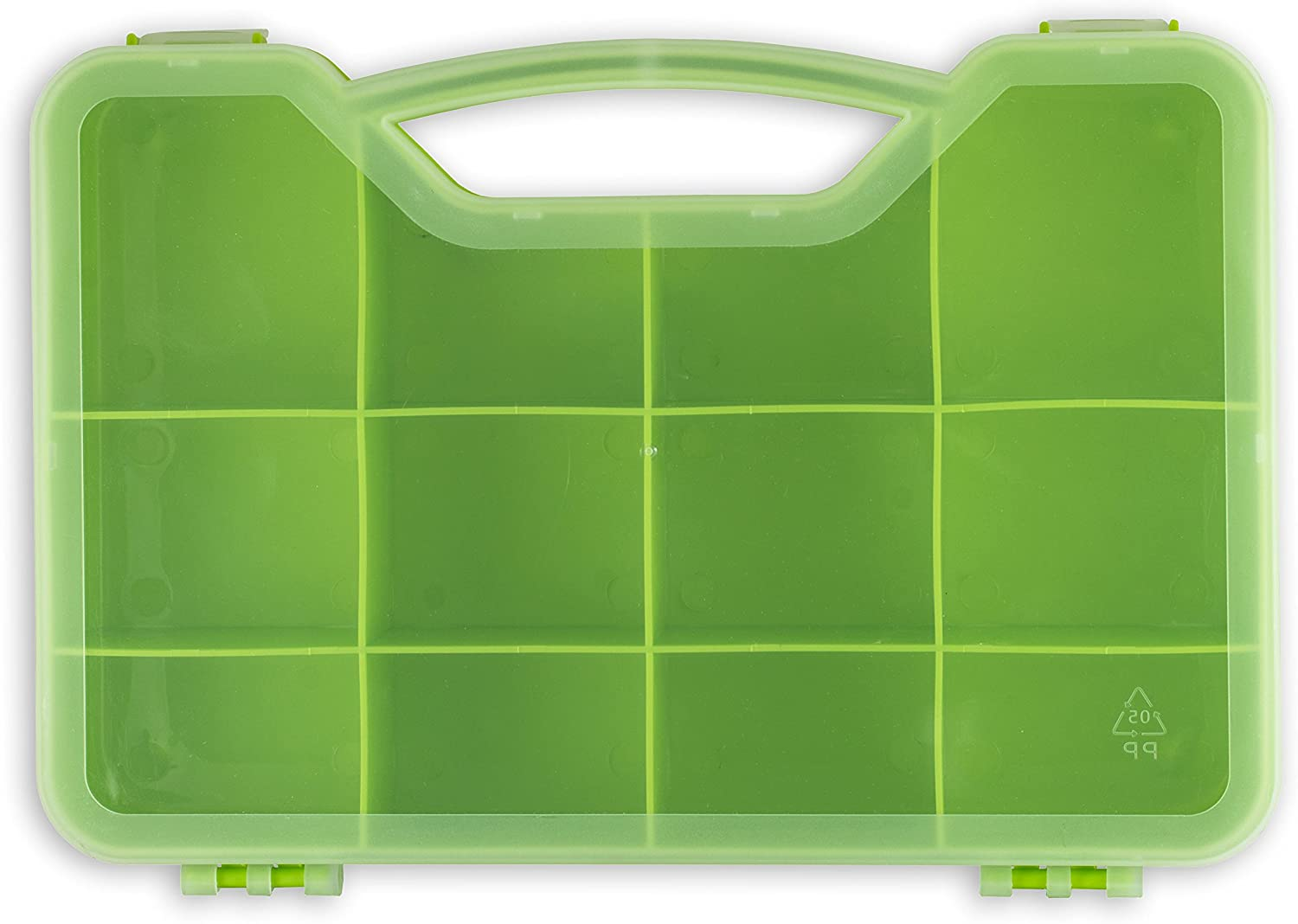 Penguin Supply Cases Toys and Crafts Storage Organizer Case Box - Fits Up to 75 Mini Figures Threads in All Styles Twisty Petz, Shopkins, Num Noms, Tsum Tsum, Twozies and Others (Green)
