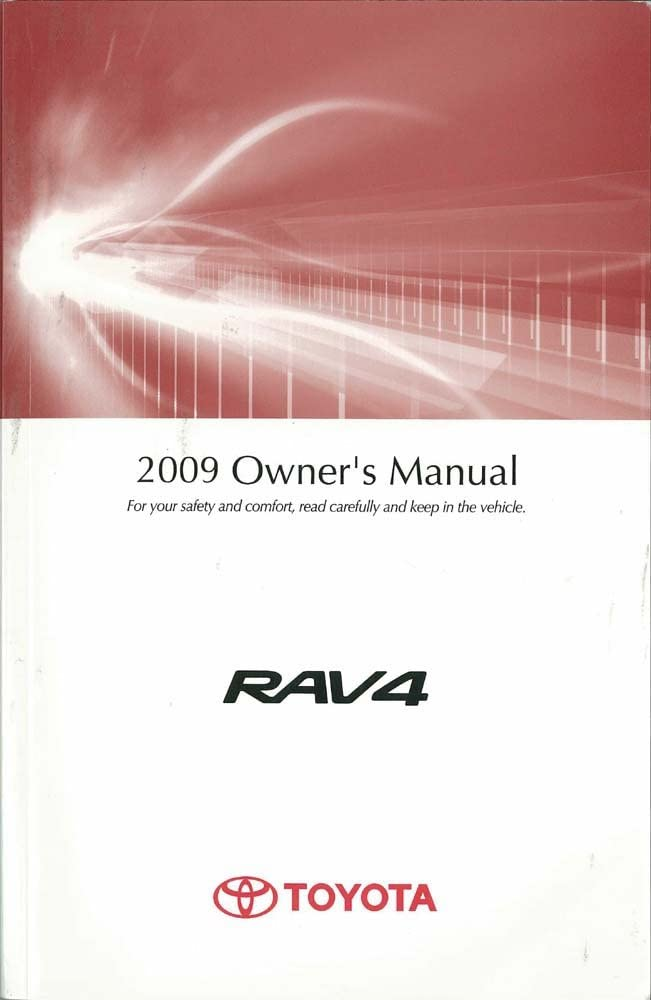 bishko automotive literature 2009 Toyota Rav4 Owners Manual User Guide Reference Operator Book Fuses Fluids