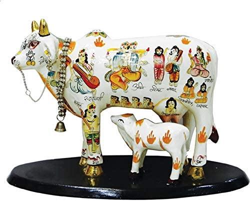 Global Desi Cow with Calf Statue Idol 8