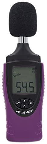 MeterToSound Level Meter ST8080, Measuring Range: 40~130db (40~80dB, 50-90dB, 60-100dB, 80-120dB,90~130db) ; Frequency weighting: A Type