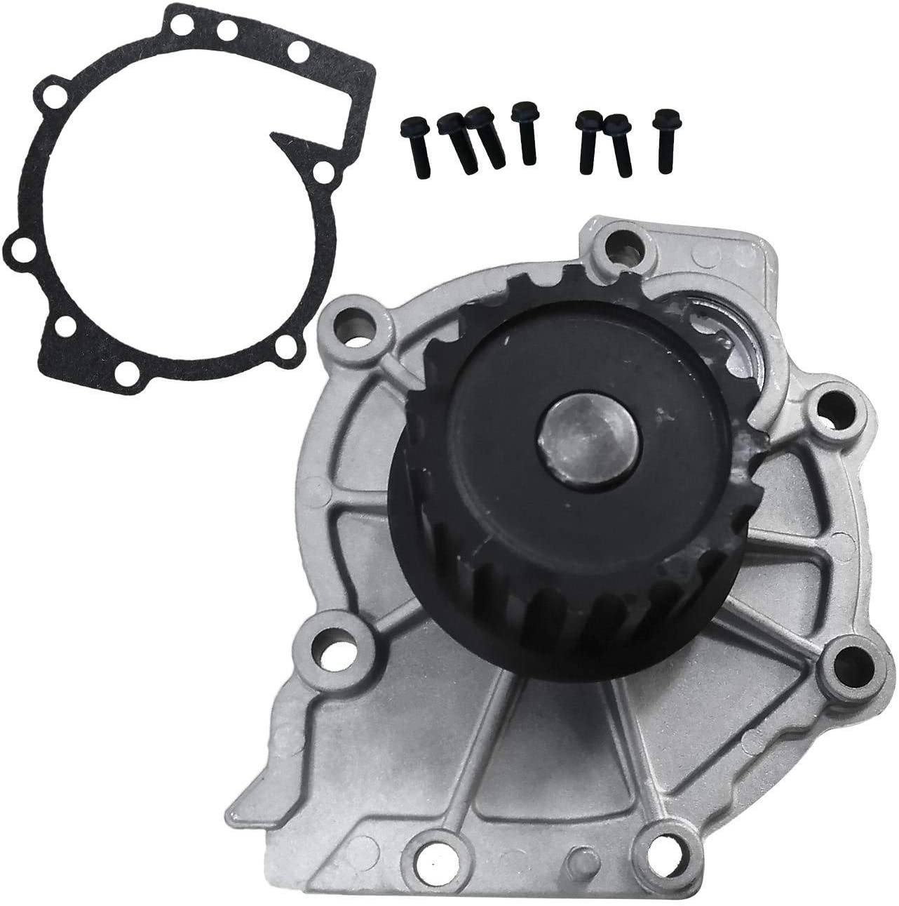 Bapmic 274216 Engine Water Pump with Gasket for Volvo S80 XC90 2.9L