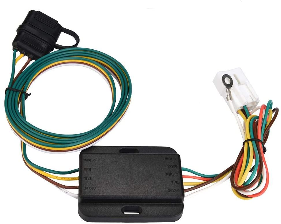 Towing Hitch Wirings, 4 Pin 12V US Trailer Hitch Wiring Tow Harness Power Controller Plug