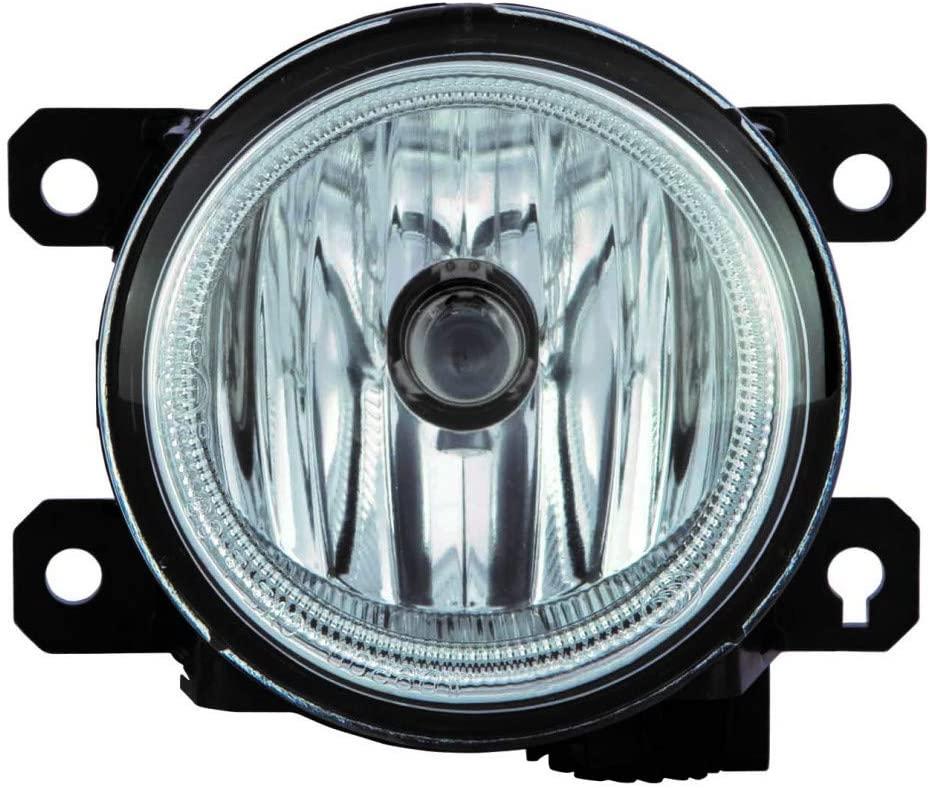 For Honda Civic Sedan Fog Light Assembly 2013 2014 2015 Passenger Side 2.4L Engine For HO2593136 | 33901-TY0-305