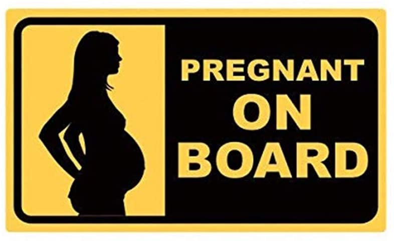 Pregnant On Board Baby Safety #1 Printed Decal Sticker - 5
