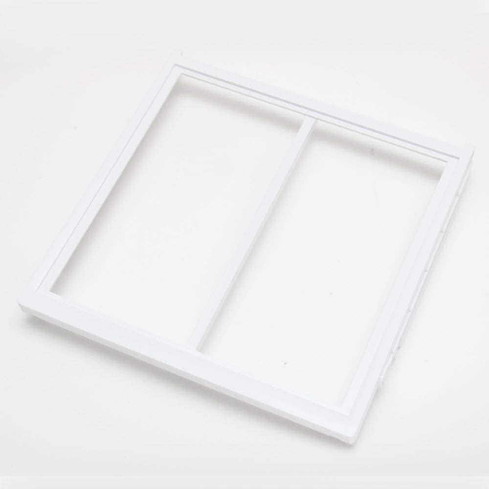 241747101 Refrigerator Crisper Drawer Cover Frame, Lower Genuine Original Equipment Manufacturer (OEM) Part