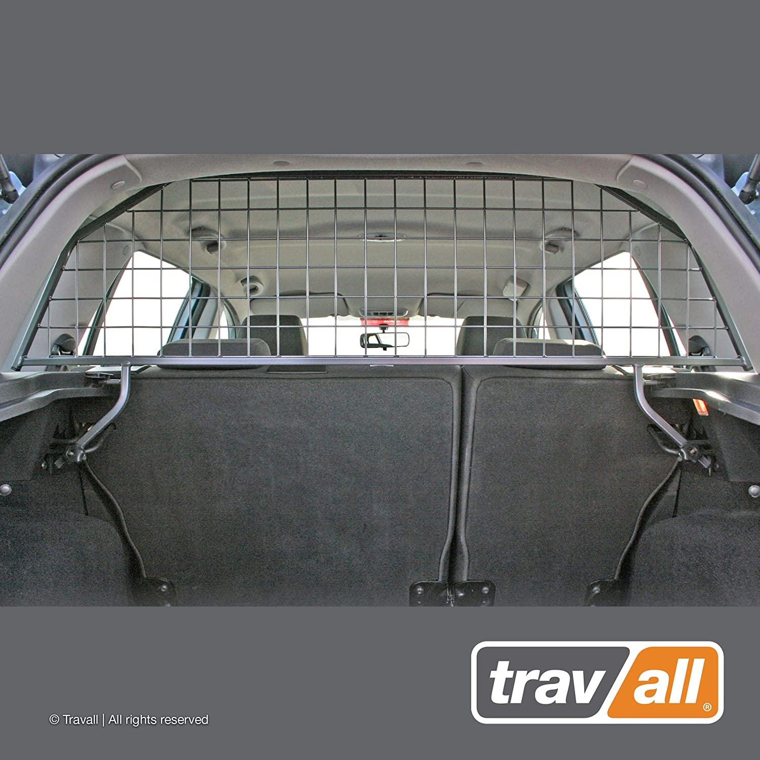 Travall Guard Compatible with Ford Fusion Hatchback (2002-2012) TDG0400 - Rattle-Free Steel Pet Barrier