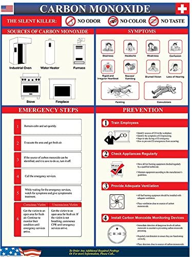 Carbon Monoxide Poisoning Poster