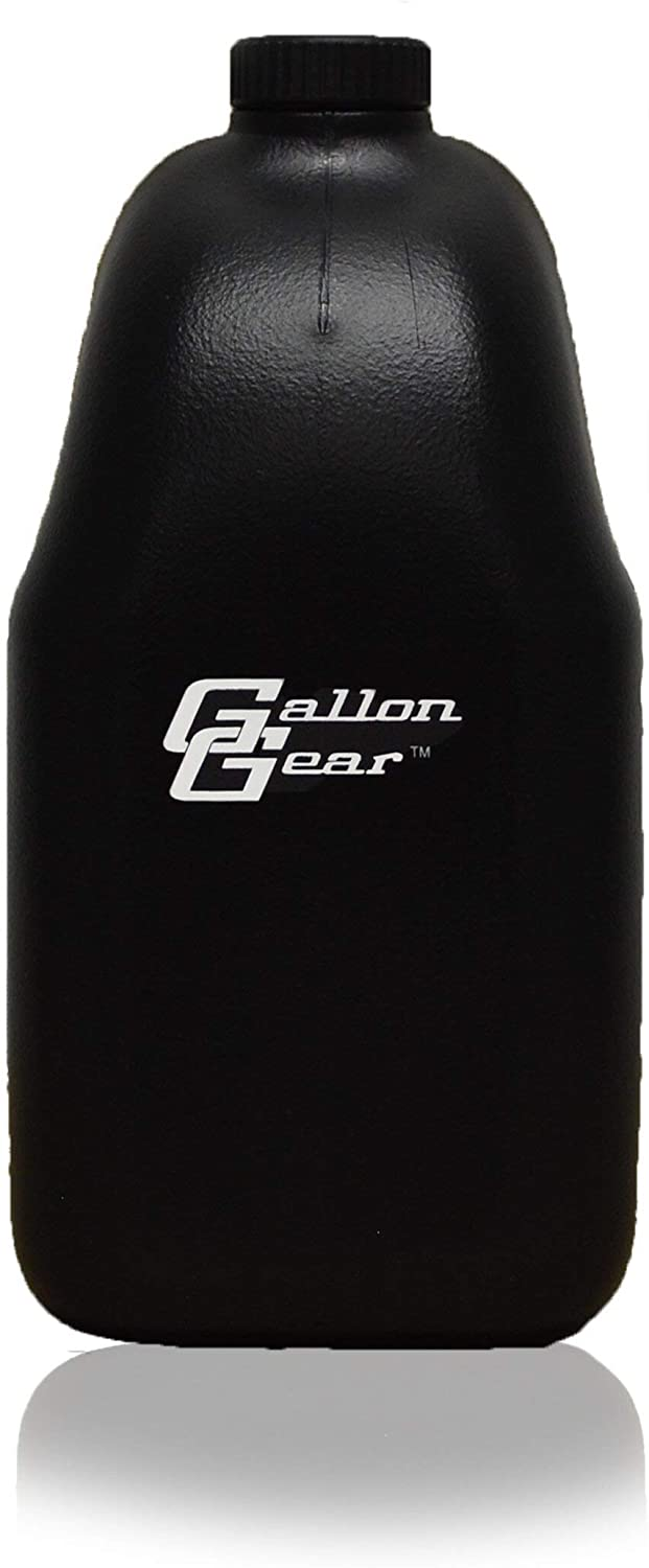 Gallon Gear Half-Gallon Large Water Bottle - BPA Free Plastic, Reusable Water Jug - Hydration Water Bottle for Men and Women - Gym, Sports, Training & Fitness