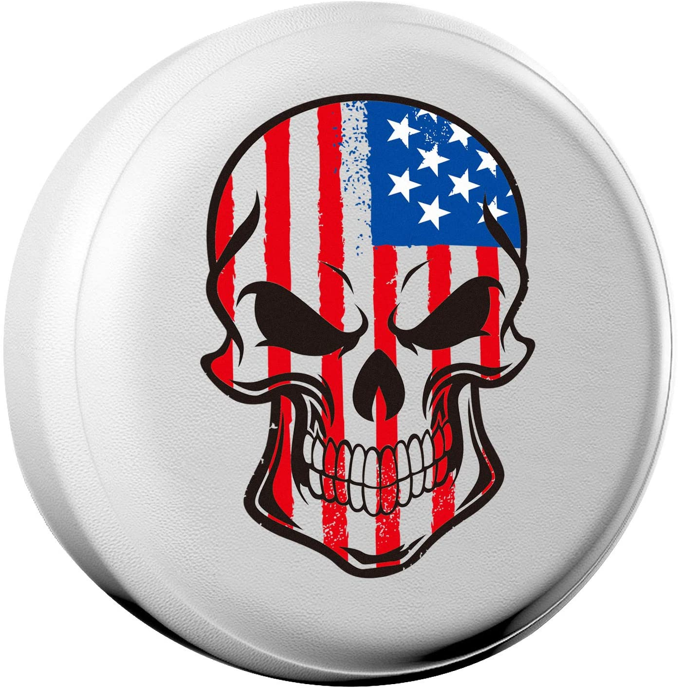 AmFor Spare Tire Cover, Universal Fit for Jeep, Trailer, RV, SUV, Truck and Many Vehicle, Wheel Diameter 32