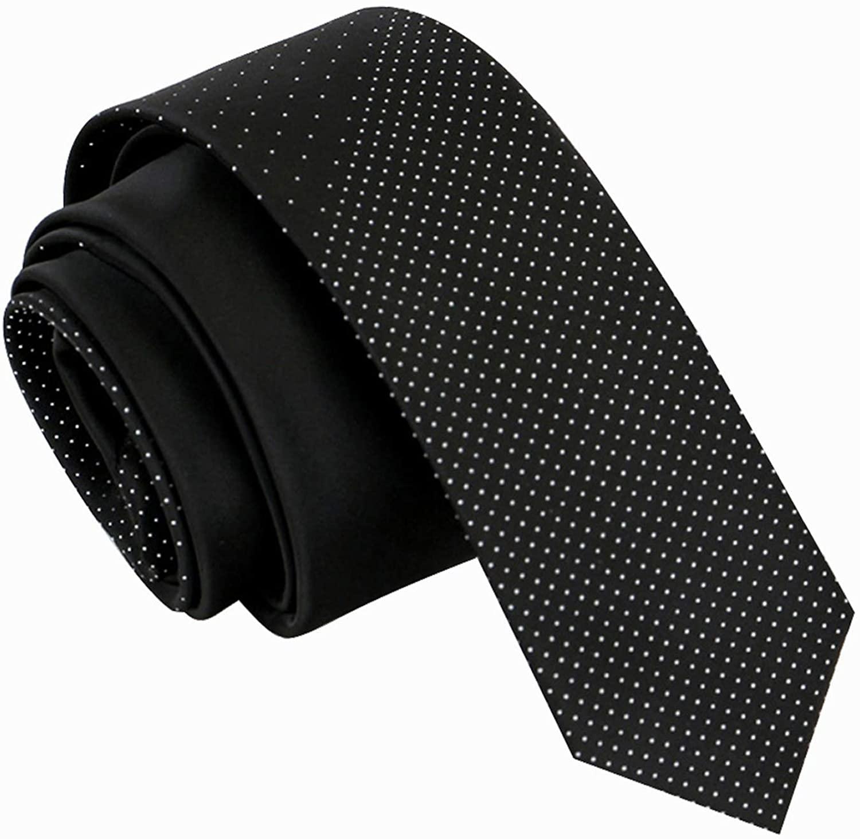 Manoble Men's Neckties 2.17 Inches Slim Ties for Men