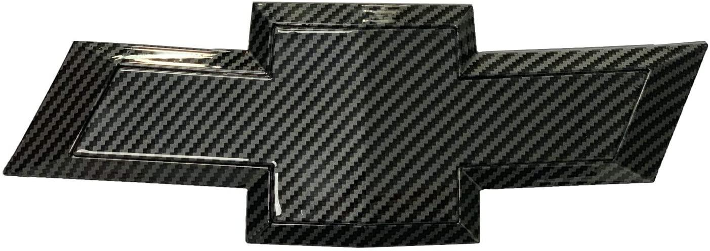 car sales 2011-2014 Che Rear Bumper Emblem Carbon Fibre Grille Badge Grill Sign Symbol Logo (carbon fibre, rear)