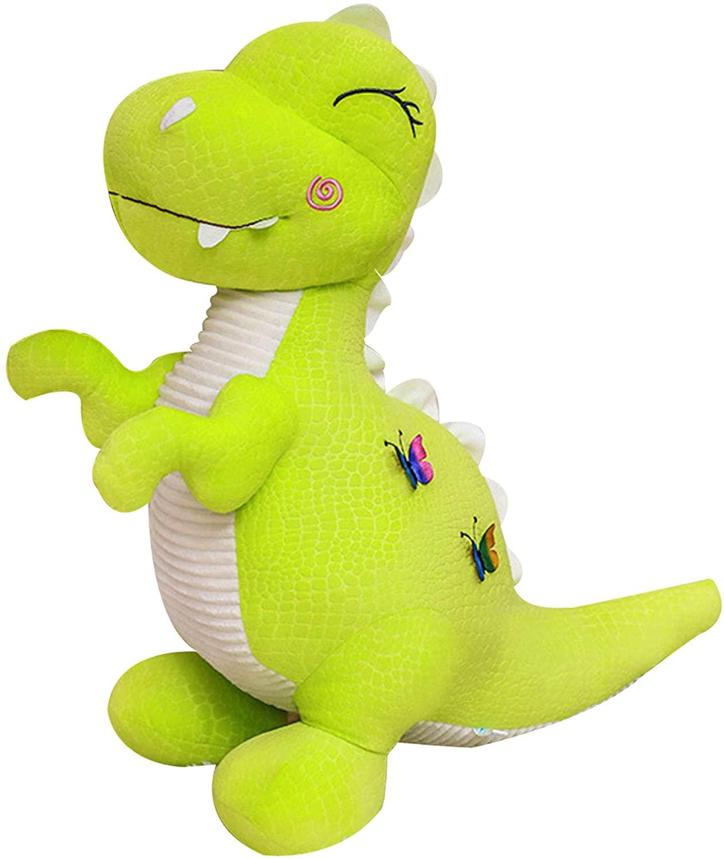 Wemi Green Dinosaur Stuffed Animal Toys Cute Soft Dinosaurs Plush Doll T-Rex Throw Pillow for Boys Girls 11