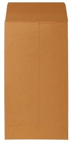 Sparco Coin Envelopes, Gummed Flap, 28 lbs, 3-1/2 x 6-1/2 Inches, Kraft (SPR01364)