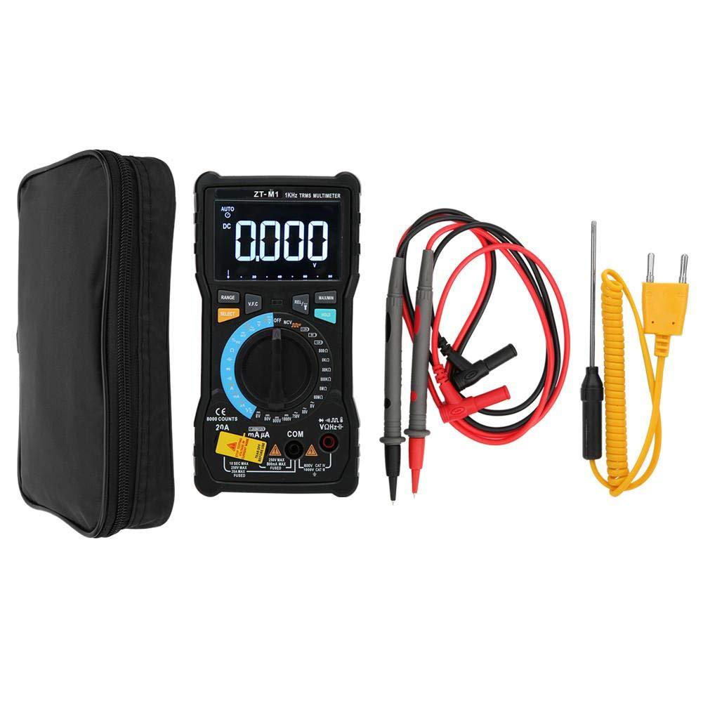 LCD Digital Intelligent Dual Mode Multimeter Multifunctional Temperature Tester Meter, Multimeter Featuring NCV Non