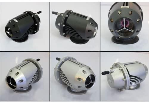 Rhegene Turbo Turbocharger New PSI boost pressure Black Car Universal SSQV 4 Billet Aluminum Blow Off Valve BOV Holds up to 30