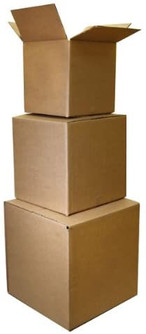 The Boxery 9x9x9'' Shipping Boxes 25 Pack