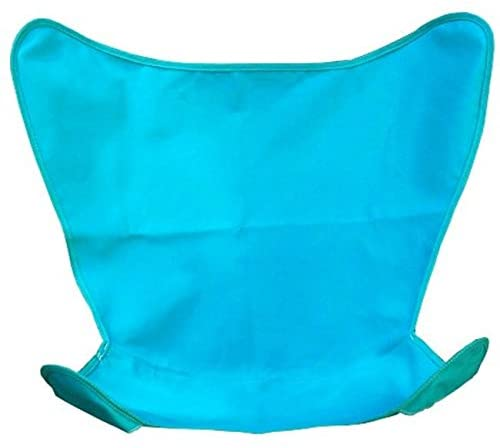 "35"" Teal Duck Cotton Replacement Cover for Retro Butterfly Outdoor Patio Chair"