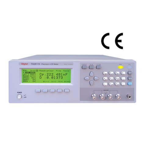 TH2817A Digital LCR Meter with Frequency Range 50Hz-100kHz, 16 Points