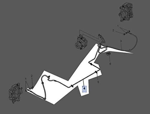 Polaris 2017 Slingshot Hose Brake Caliper Rf 1912552 New Oem