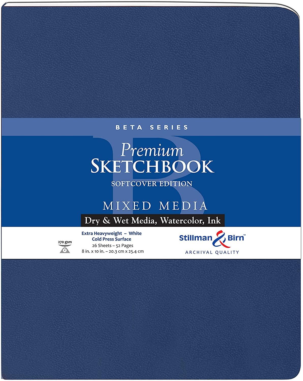 Stillman & Birn Beta Series Softcover Sketchbook, 8