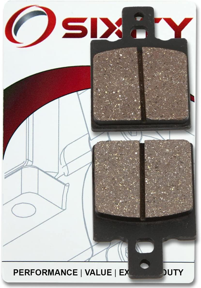 Sixity Ceramic Brake Pads FA47 Rear Replacement Kit