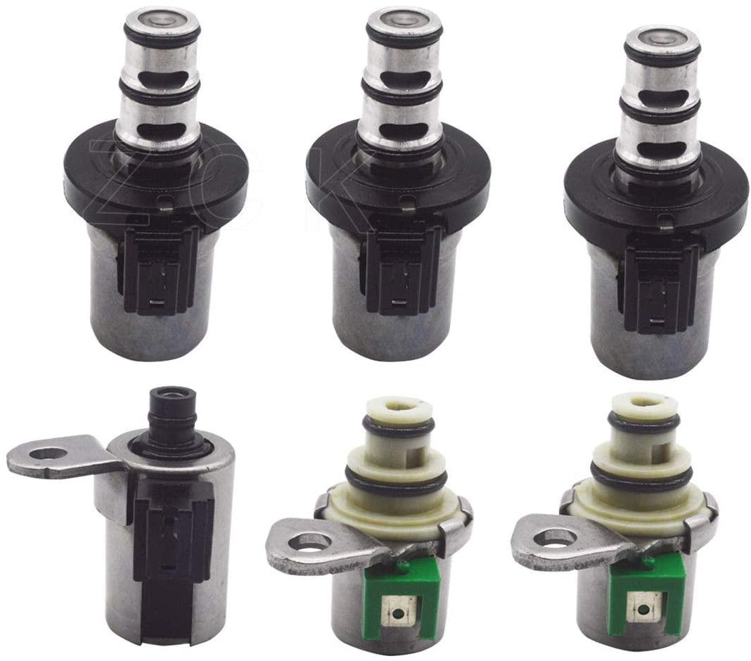 6pcs 4F27E Transmission Shift Solenoid Kit for Ford & Mazda 2 3 5 6 CX-7 MPV