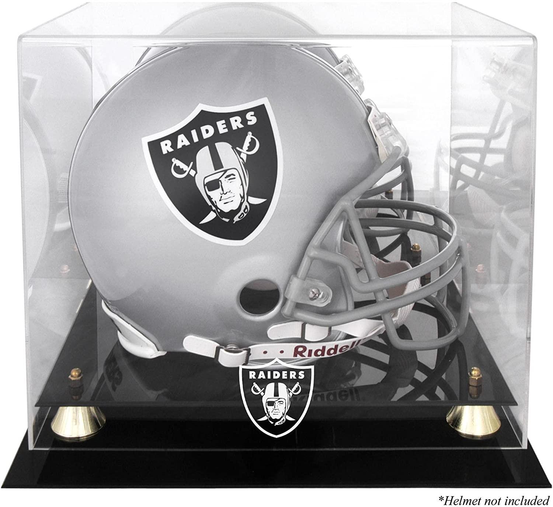 Mounted Memories Oakland Raiders Helmet Display Case