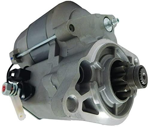New Starter Replacement For Bobcat 2200 2300 UTV & ClubCar with Kubota Diesel D722 Engine 1E321-63011 102648501CC 103855901 103886501CC 428000-7330 4280007330