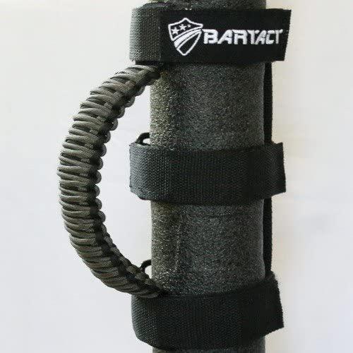 Bartact TAOGHUPBG - Roll Bar Paracord Grab Handles (Pair) - Black/Graphite