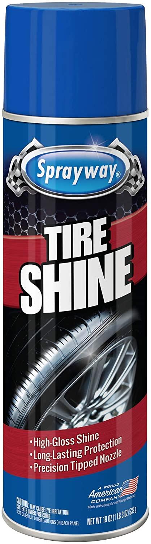 Sprayway Auto Tire Shine, 15 oz.